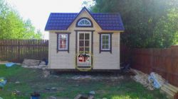 "Садовый домик -002  СД ""Авиа"" размер 2,3х4.0 - 0"