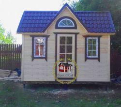 "Садовый домик -002  СД ""Авиа"" размер 2,3х4.0 - 2"