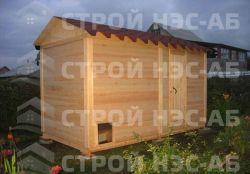 Домик для кур - 019 1,2х1,7 - 0