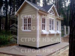 """Садовый домик -005 СД """"Ассоль"""" размер 2,5х5,0 - 2"""