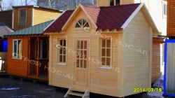 "Садовый домик -012 СД ""Афина"" размер 2,3х4,0 - 1"
