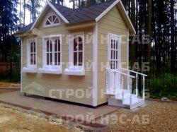 """Садовый домик -005 СД """"Ассоль"""" размер 2,5х5,0 - 0"""