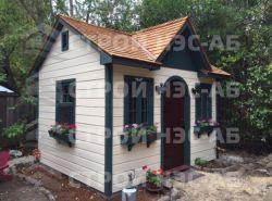 """Садовый домик -016 """"Аглая"""" размер 2,2х4,5 - 1"""