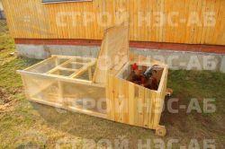 Домик для кур - 022 2,0х0,8 - 0