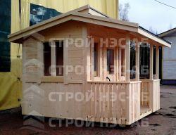 """Хозблок для дачи-022 с верандой """"Добротный"""" 4,0х3,0 - 0"""