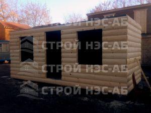 Дом на базе метал бытовки - Строй-НЭСАБ - №5
