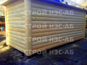 Дом на базе метал бытовки - Строй-НЭСАБ - №12