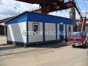 Варианты городков для рабочих и ИТР - Строй-НЭСАБ - №46