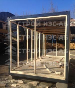 Дом на базе метал бытовки - Строй-НЭСАБ - №27
