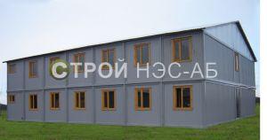Варианты городков для рабочих и ИТР - Строй-НЭСАБ - №31