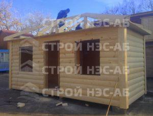 Дом на базе метал бытовки - Строй-НЭСАБ - №11