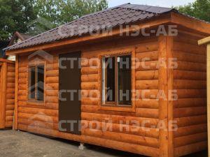 Дом на базе метал бытовки - Строй-НЭСАБ - №1