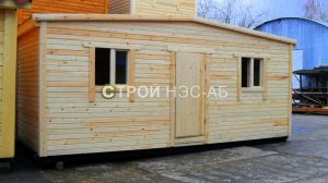 Дом на базе бытовки - Строй-НЭСАБ - №13