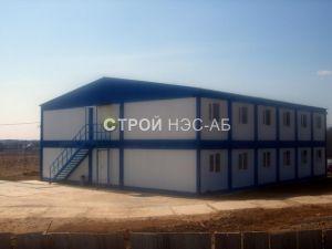 Варианты городков для рабочих и ИТР - Строй-НЭСАБ - №11