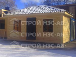 Дом на базе метал бытовки - Строй-НЭСАБ - №20