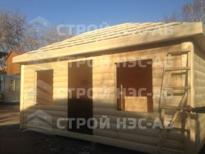 Дом на базе метал бытовки - Строй-НЭСАБ - №17