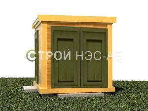 Хозблок с сан кабиной и душем - Строй-НЭСАБ - №12
