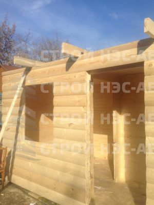 Дом на базе метал бытовки - Строй-НЭСАБ - №6
