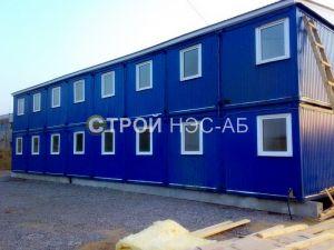 Варианты городков для рабочих и ИТР - Строй-НЭСАБ - №30
