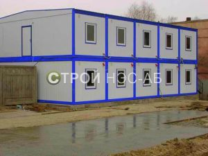 Варианты городков для рабочих и ИТР - Строй-НЭСАБ - №20