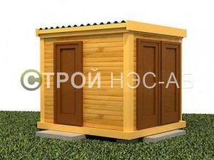 Хозблок с сан кабиной и душем - Строй-НЭСАБ - №9