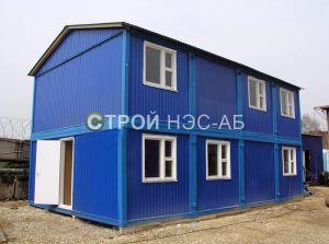 Варианты городков для рабочих и ИТР - Строй-НЭСАБ - №4