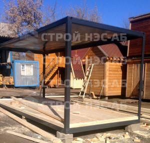 Дом на базе метал бытовки - Строй-НЭСАБ - №13