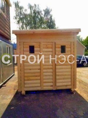 Хозблок с сан кабиной и душем - Строй-НЭСАБ - №5