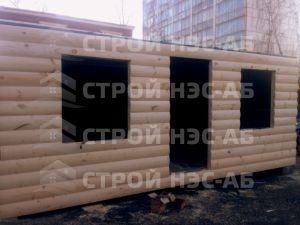 Дом на базе метал бытовки - Строй-НЭСАБ - №4