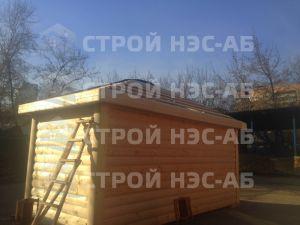 Дом на базе метал бытовки - Строй-НЭСАБ - №15