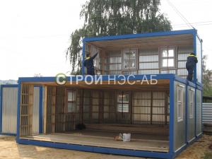 Варианты городков для рабочих и ИТР - Строй-НЭСАБ - №43