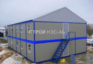 Варианты городков для рабочих и ИТР - Строй-НЭСАБ - №1