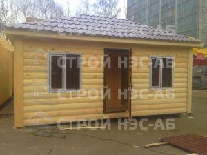 Дом на базе метал бытовки - Строй-НЭСАБ - №18