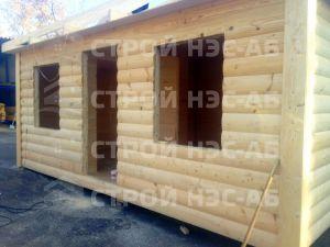 Дом на базе метал бытовки - Строй-НЭСАБ - №10