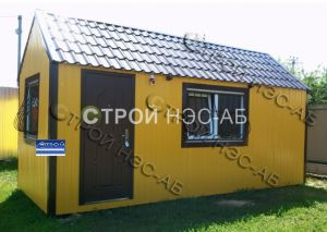 Дом из металлических бытовок - Строй-НЭСАБ - №26