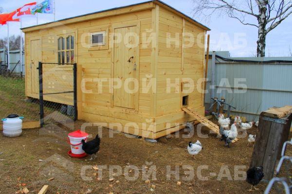 Домик для кур - 021 2,3х6,0