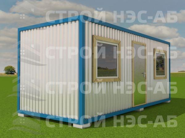 Блок-контейнер БКл-012 2,5х6,0 (распаш тип 4) ЛДСП
