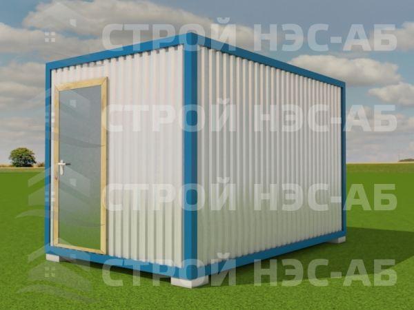 Блок-контейнер БКл-003 2,5х4,0 (без тамбура) ЛДСП
