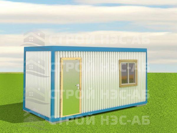 Блок-контейнер БКо-024 2,5х7,0 (без тамбура) Двп