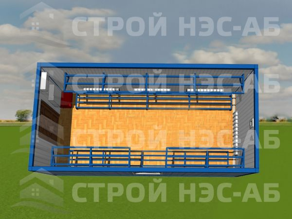 Блок-контейнер Сушилка-001