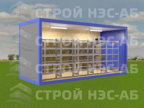 Блок-контейнер Склад-002