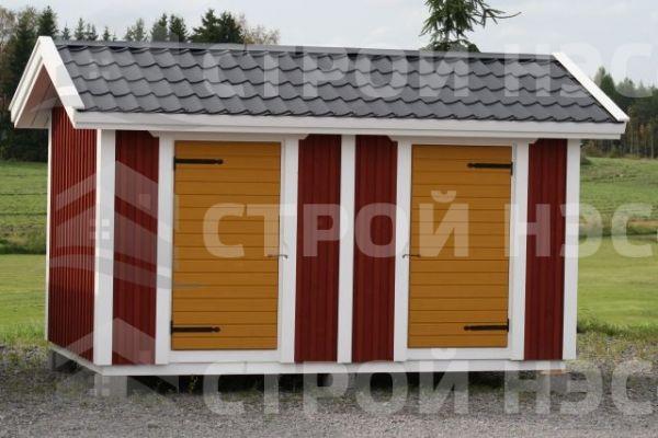 """Хозблок для дачи-023 """"Финский"""" размер 2,5х6,0"""