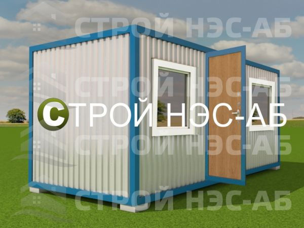 Блок-контейнер БКо-015 2,5х6,0 (расп №7) Двп