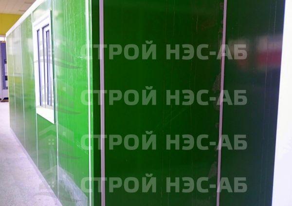 Блок-контейнер БКс-01 2,5х4,0 (без тамбура) бытовка из сэндвич панелей