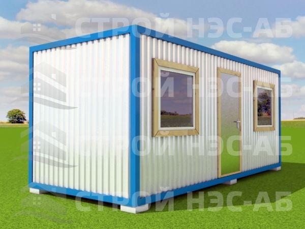 Блок-контейнер БКп-017 3,0х6,0 (расп.№5) Мдф/Пвх