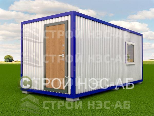 Блок-контейнер БКп-055 2,5х12,0 (тамб. №2,3) Мдф/Пвх