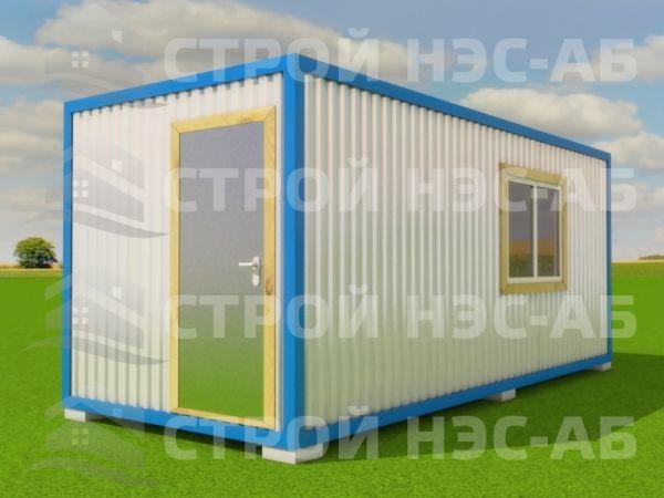 Блок-контейнер БКп-004 2,5х4,5 (без тамбура) Мдф/Пвх