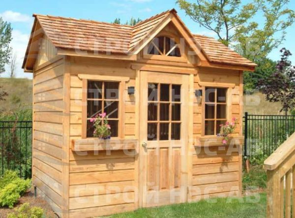 "Садовый домик -004 СД ""Агата"" размер 2,0х4,0"