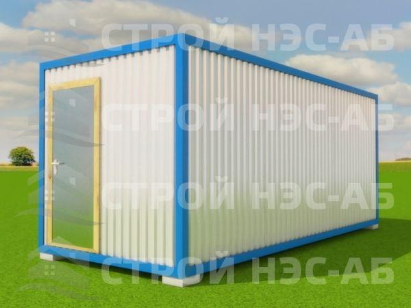 Блок-контейнер БКп-042 2,5х10,0 (без тамбура) Мдф/Пвх