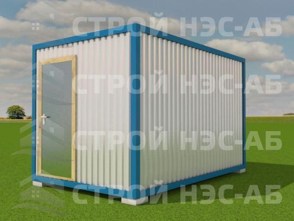 Блок-контейнер БКо-003 2,5х4,0 (без тамбура) Двп